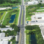 Aerial photo looking west on 44th Ave. E. just west of 19th St. Ct. E.