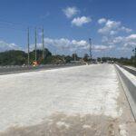 Current progress of the Braden River Bridge