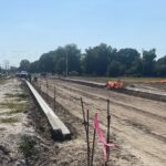 Curb installation on the north side of 44th Avenue East